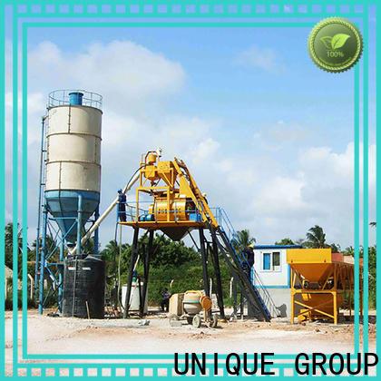 UNIQUE concrete batching mixer manufacturer for road