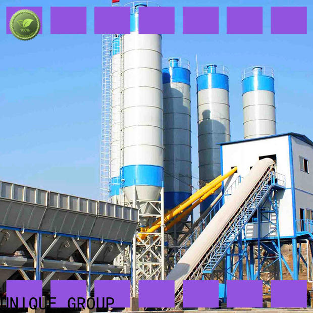 efficient mobile batching plant promotion for road