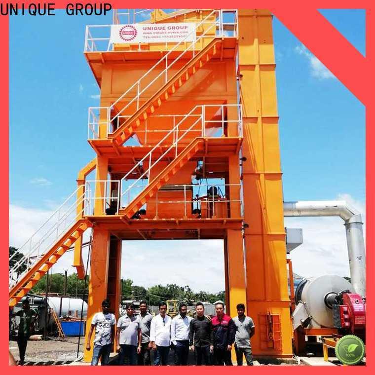 UNIQUE asphalt batch mix plant directly sale for highway
