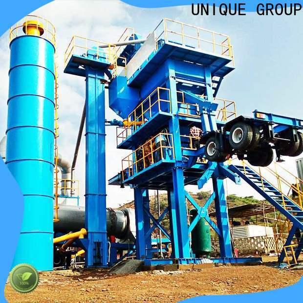 UNIQUE intermittent asphalt plant directly sale for city road
