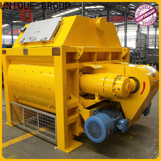 UNIQUE concrete mixing equipment with feeding system for concrete products