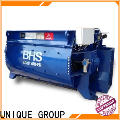 UNIQUE cement mixer equipment with feeding system for concrete products
