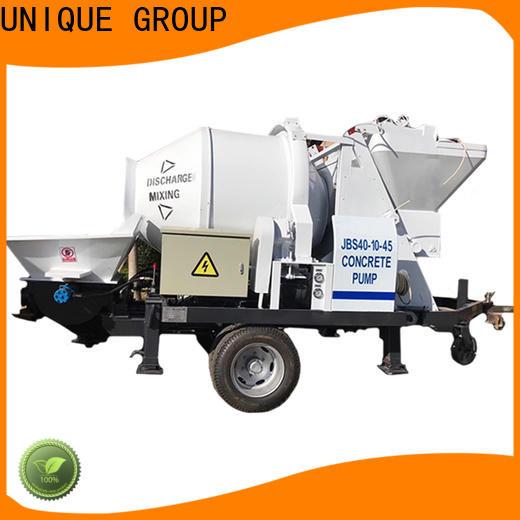UNIQUE mature concrete pumping equipment supplier for water conservancy