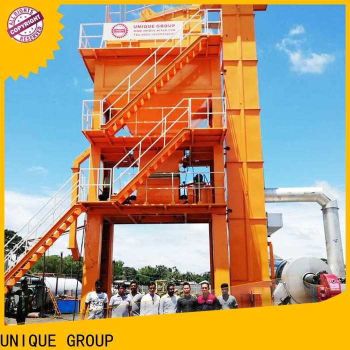 continuous bitumen mix plant manufacturer for highway