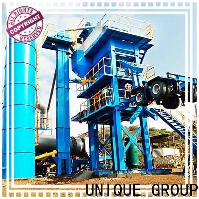 UNIQUE continuous mobile asphalt plant manufacturer