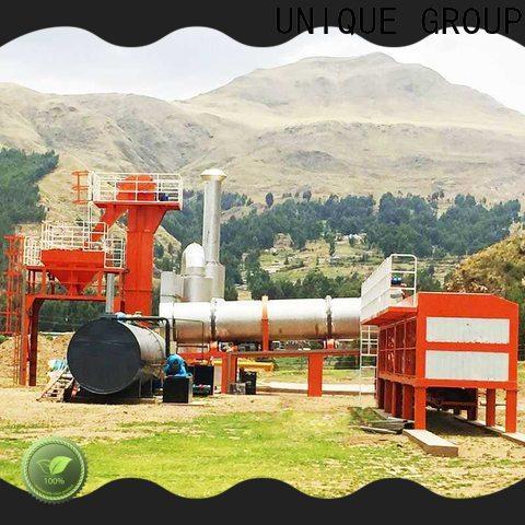 UNIQUE asphalt concrete mixing plant factory price for city road