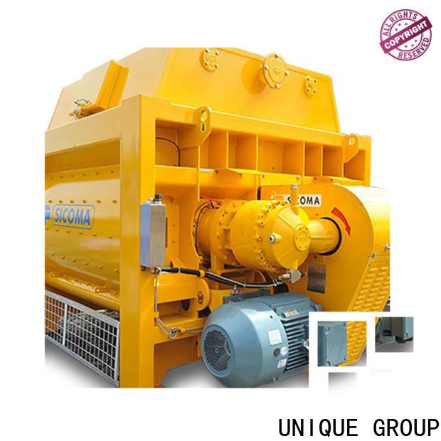 UNIQUE stronger concrete mixer machine with discharging system for light aggregate concrete