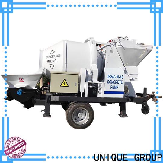 UNIQUE stable concrete pumping equipment supplier for water conservancy