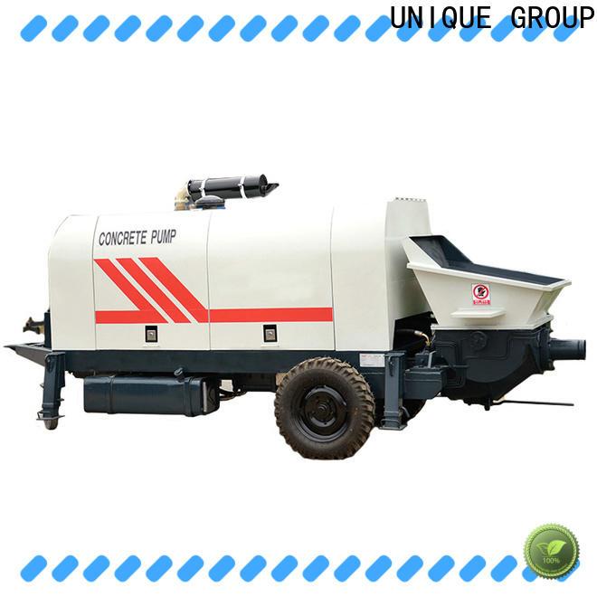UNIQUE concrete pumping machine manufacturer for railway tunnels