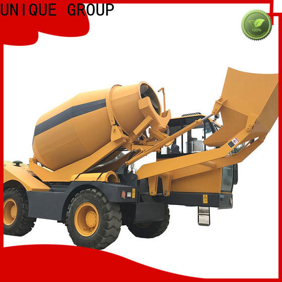 UNIQUE self loading concrete mixer cost-saving for project