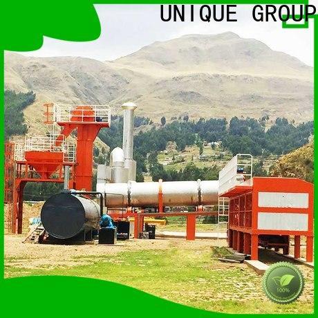 UNIQUE bitumen mix plant directly sale for parking lot