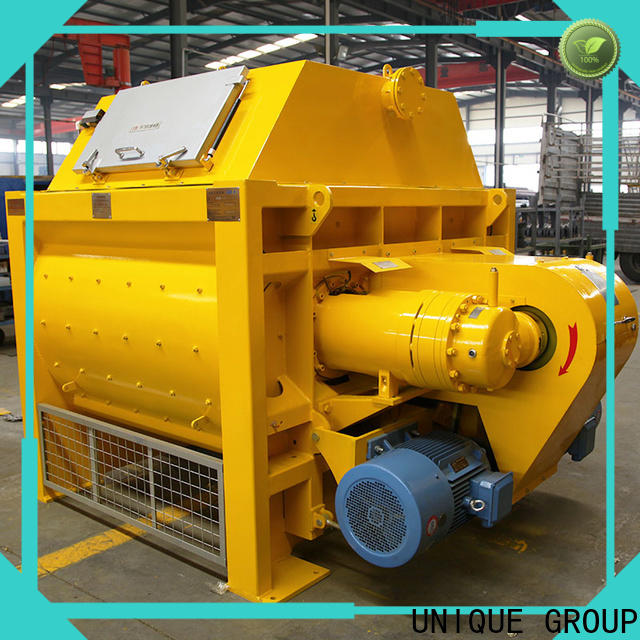 UNIQUE concrete mixers with water supply system for concrete products