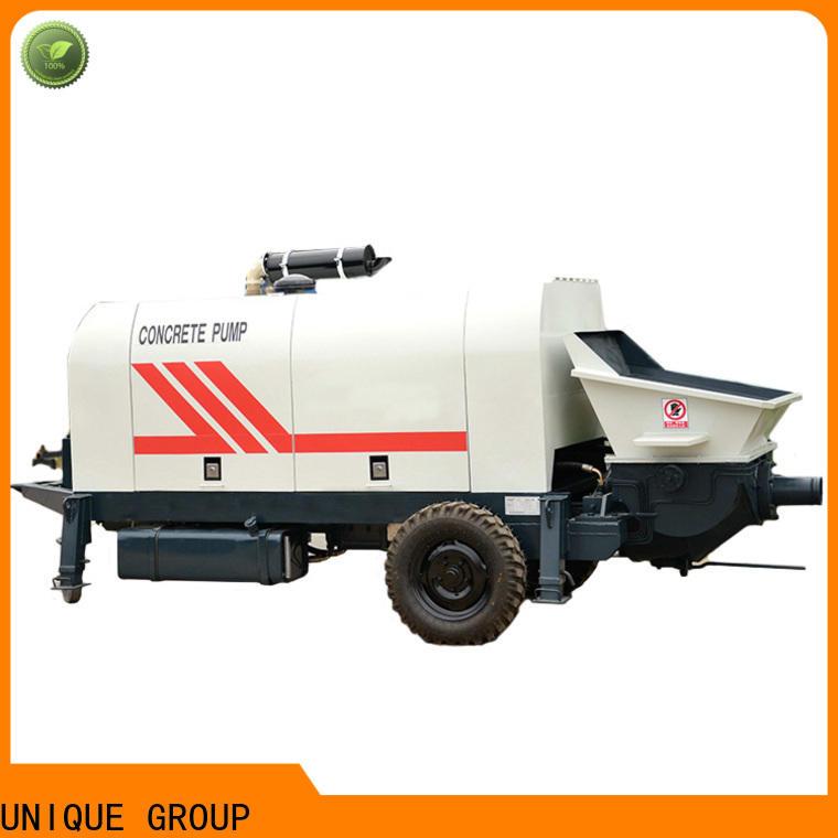 UNIQUE concrete pumping machine manufacturer for water conservancy
