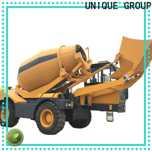 small volume concrete mixer truck automatic feeding for concrete production