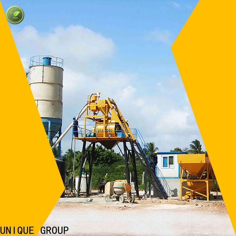 UNIQUE batch mix plant supplier for sea port