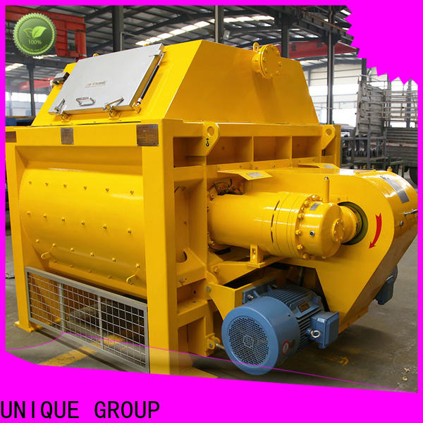 UNIQUE easy use cement mixer equipment with discharging system