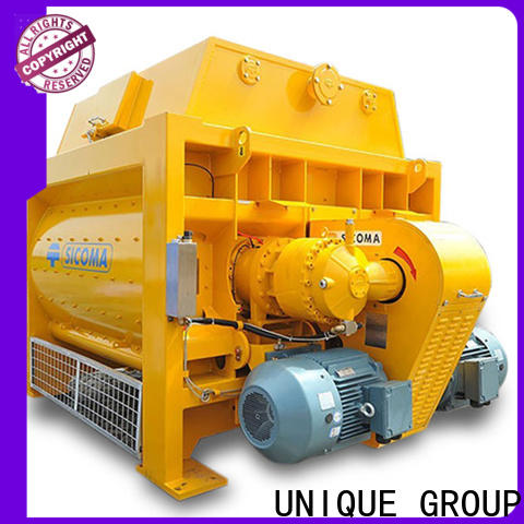 stronger cement mixer equipment with feeding system for concrete products