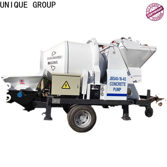 UNIQUE concrete pumping equipment online for railway tunnels