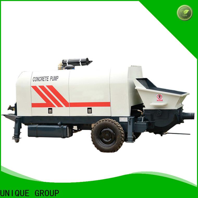 UNIQUE high quality concrete pump machine online for hydropower engineering