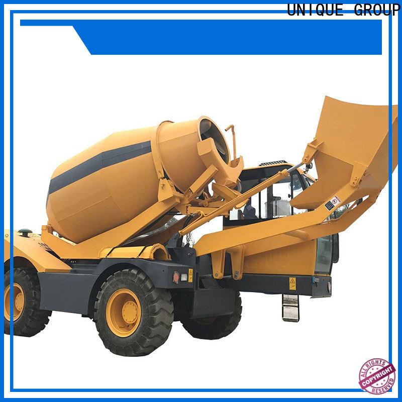 UNIQUE convenient concrete truck mixing to discharge