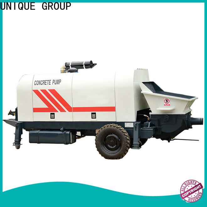 mature concrete trailer pump directly sale for railway tunnels
