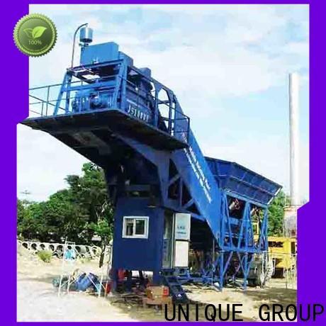 UNIQUE stable mobile concrete plant manufacturer for sea port
