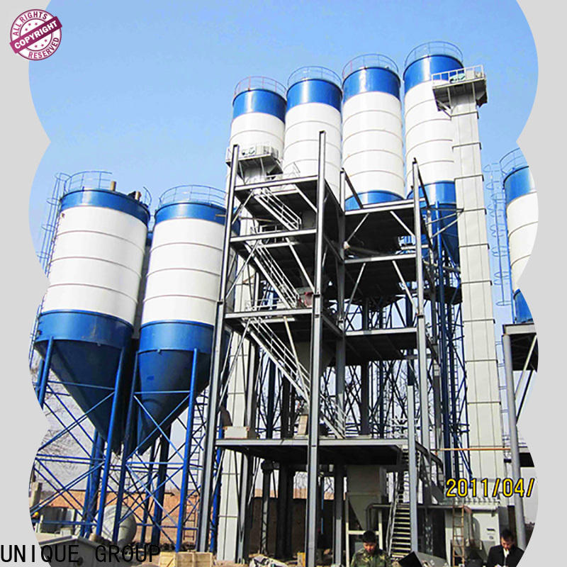 UNIQUE dry mortar plant energy-saving for plaster