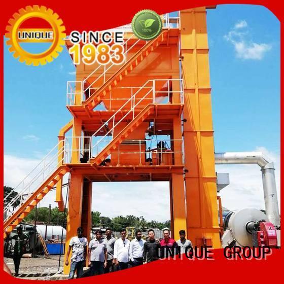 UNIQUE professional asphalt plant factory price for parking lot