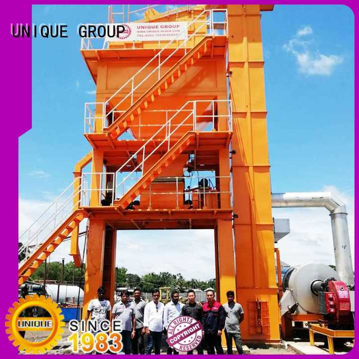 UNIQUE asphalt Asphalt Mixing Plant factory price for highway