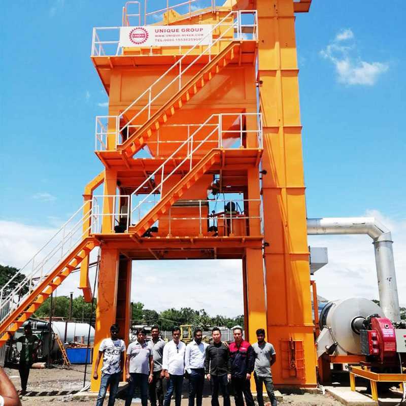 batch mobile asphalt plant directly sale for highway