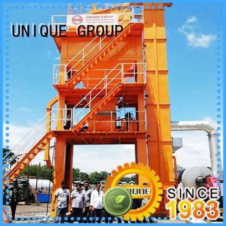 UNIQUE asphalt batch mix plant supplier for city road