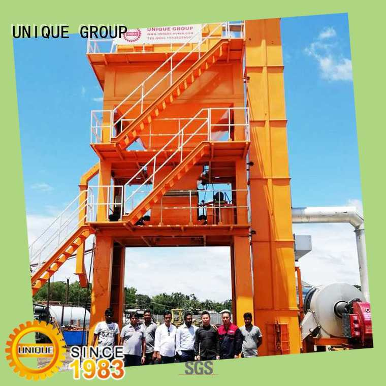 UNIQUE mixing Asphalt Mixing Plant directly sale for parking lot