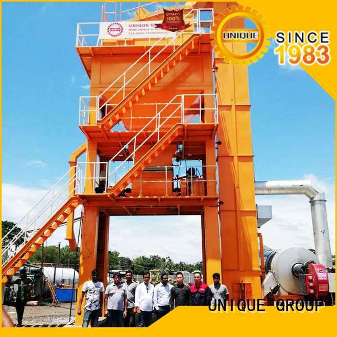 UNIQUE asphalt concrete mixing plant manufacturer for highway