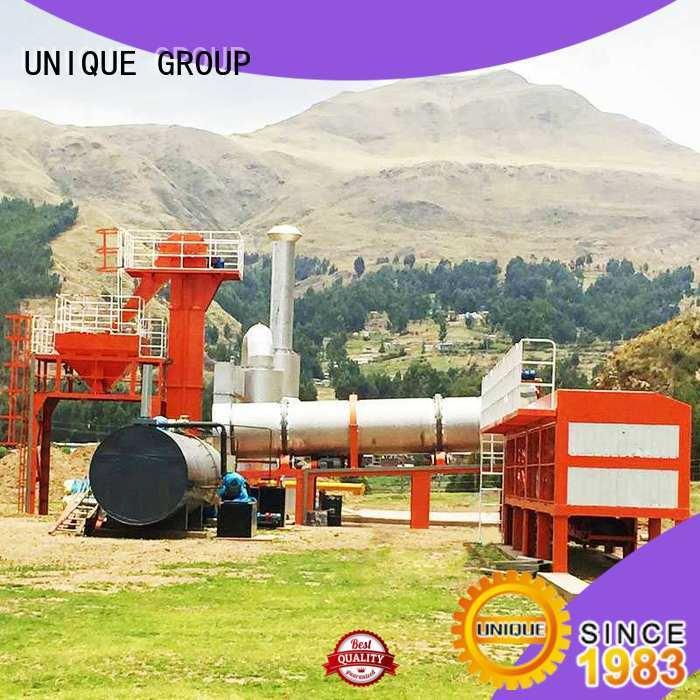 professional bitumen mix plant asphalt supplier for parking lot