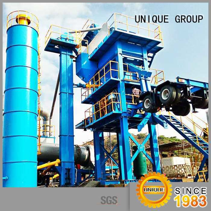 UNIQUE drum harga asphalt mixing plant supplier for city road
