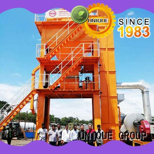 good quality asphalt concrete mixing plant mobile supplier for parking lot