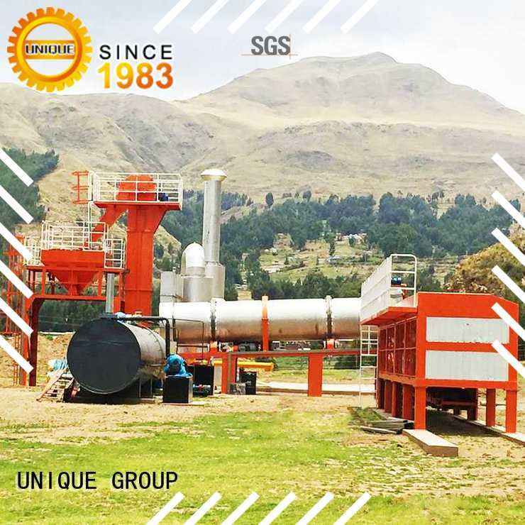 UNIQUE plant bitumen mix plant supplier