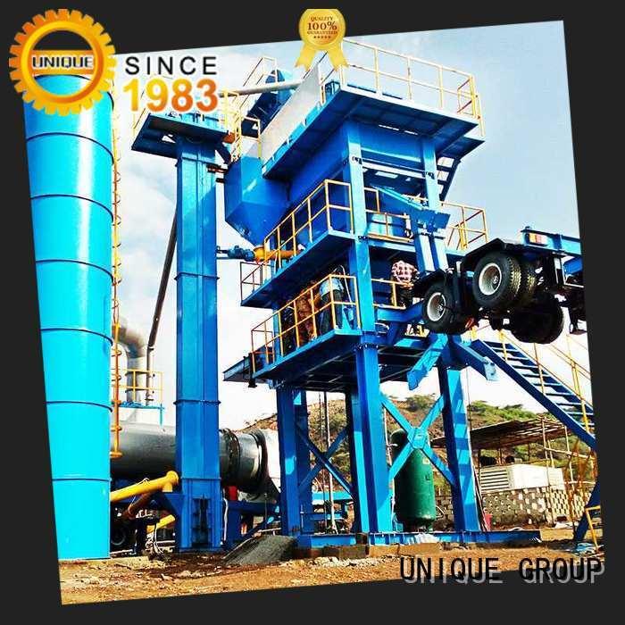 UNIQUE batch asphalt plant manufacturer