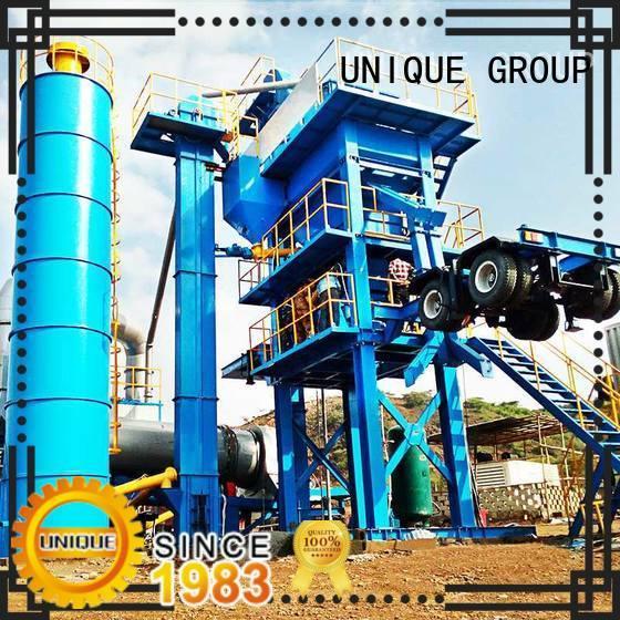 continuous asphalt drum mix plant factory price for parking lot