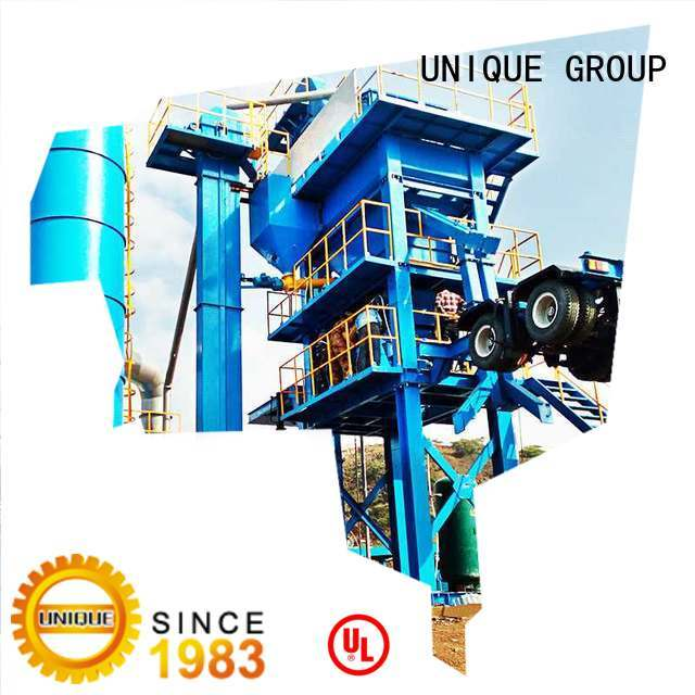 UNIQUE drum Asphalt Mixing Plant manufacturer for city road
