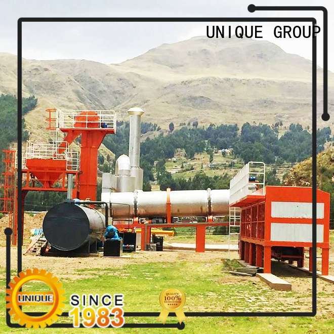 continuous asphalt concrete mixing plant drum factory price