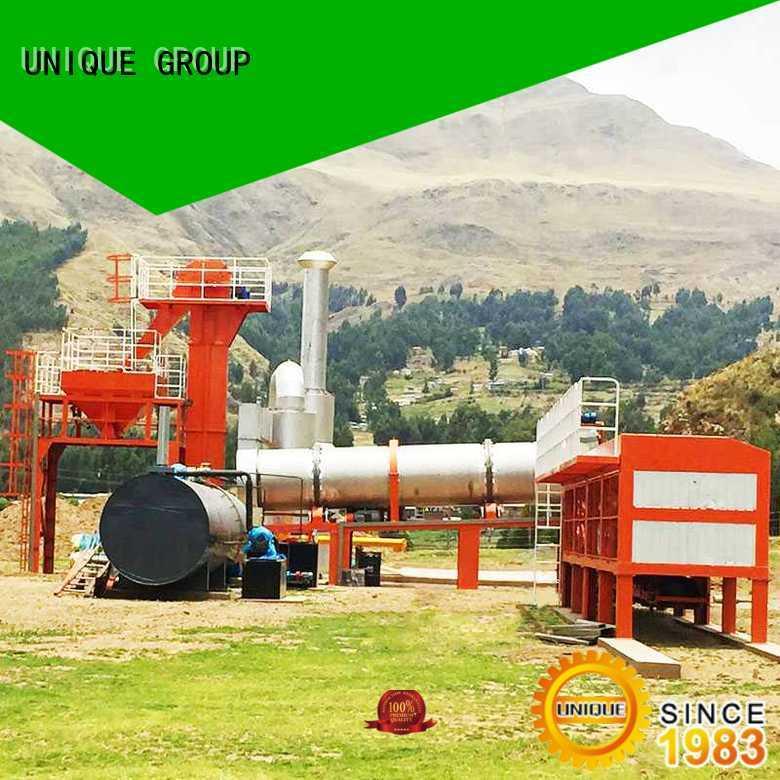 UNIQUE good quality asphalt plant supplier for city road