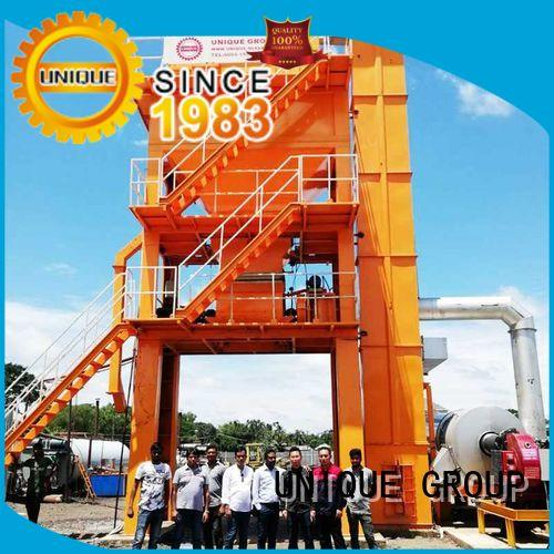 UNIQUE intermittent asphalt concrete mixing plant directly sale for parking lot