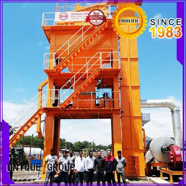 UNIQUE continuous asphalt plant factory price for city road