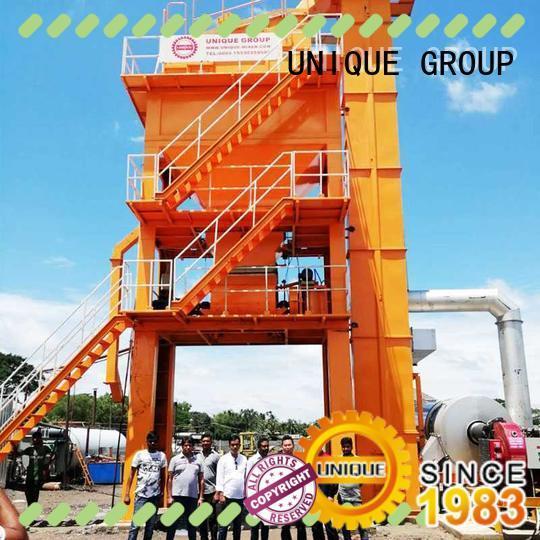 UNIQUE batch asphalt mixer supplier for city road