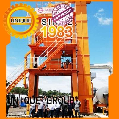 UNIQUE drum mobile asphalt plant manufacturer