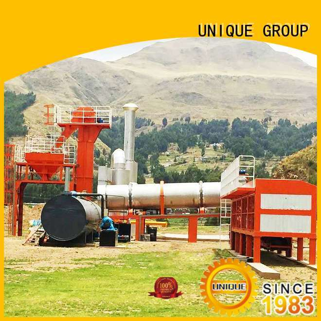 UNIQUE continuous asphalt batching plant manufacturer for highway