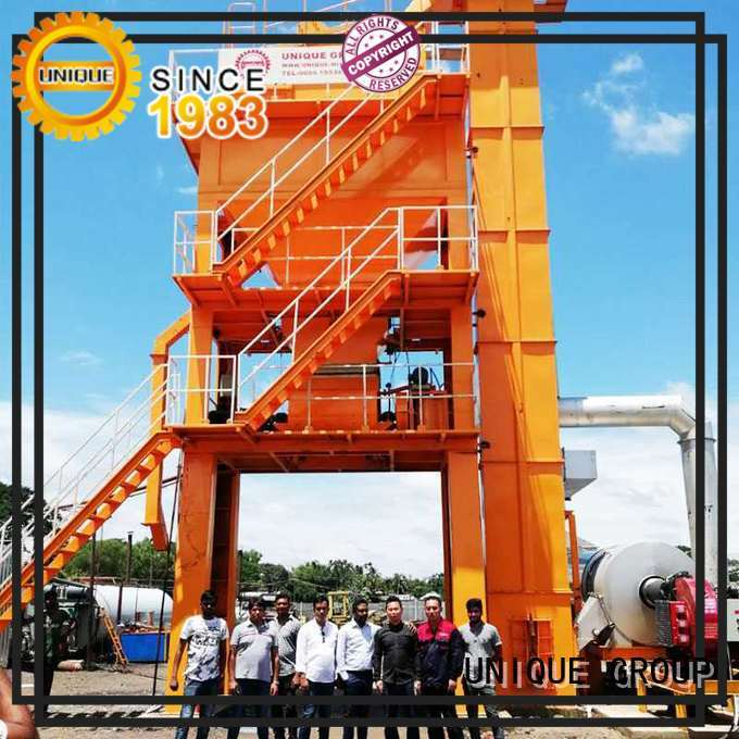 mixing mobile asphalt plant directly sale UNIQUE