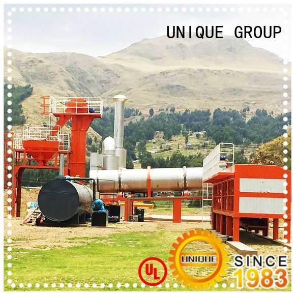 UNIQUE asphalt asphalt batch mix plant supplier for parking lot