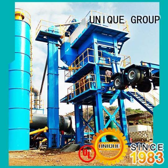 UNIQUE professional bitumen mix plant supplier for city road